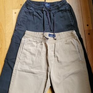 American Eagle joggers (2 pairs)
